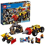 LEGO City Mining Mining Heavy Driller 60186建物キット( 294Piece )