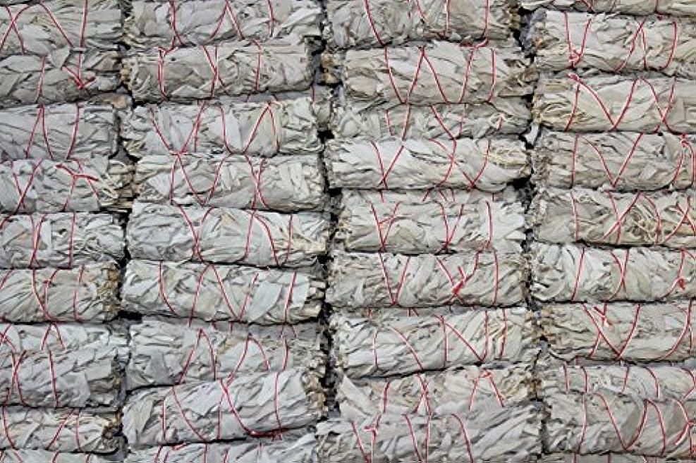 条約リス権利を与えるMiniホワイトセージお香Wands – のセットで販売4束