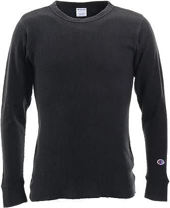 [チャンピオン] ロングTシャツ 長袖Tシャツ 綿100% ワッフル C3-Q405 メンズ