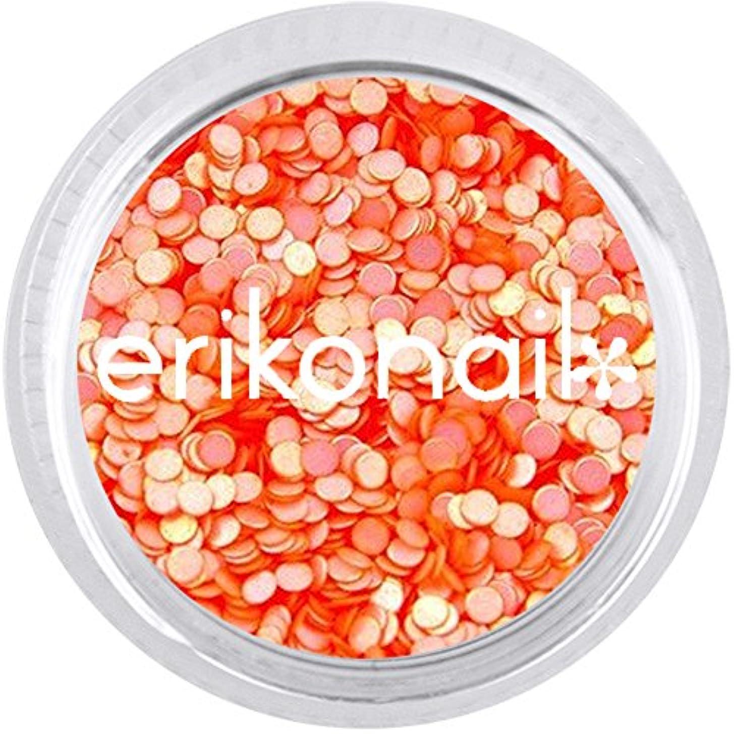 乱用ホイットニー切手ジュエリーコレクション ERI-208 パステルパールオレンジ 1mm 約2g