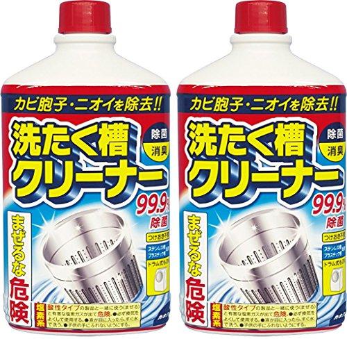【まとめ買い】 カネヨ石鹸 洗たく槽クリーナー 液体 550g×2個