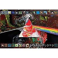 『狂気』発売45周年記念 PINK FLOYD ピンクフロイド - DARK SIDE OF THE MOON/ポスター 【公式/オフィシャル】