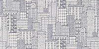 サンゲツ ファイン 壁紙 (クロス) 糊なし 〈防かび〉 街 (FE-1350) (旧 FE-4013) 【1m単位切売】