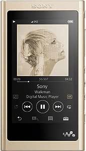 ソニー ウォークマン Aシリーズ 16GB NW-A55 : MP3プレーヤー Bluetooth microSD対応 ハイレゾ対応 最大45時間連続再生 2018年モデル ペールゴールド NW-A55 N