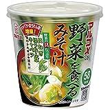 カップ野菜を食べるみそ汁 1食 ×6個