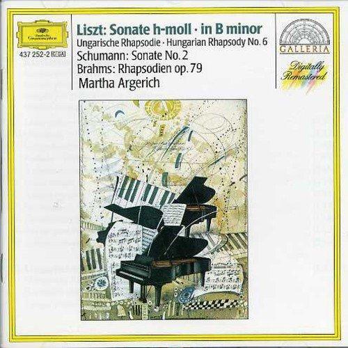 Liszt: Pno Sonata in B Minor Hungarian Rhapsody No
