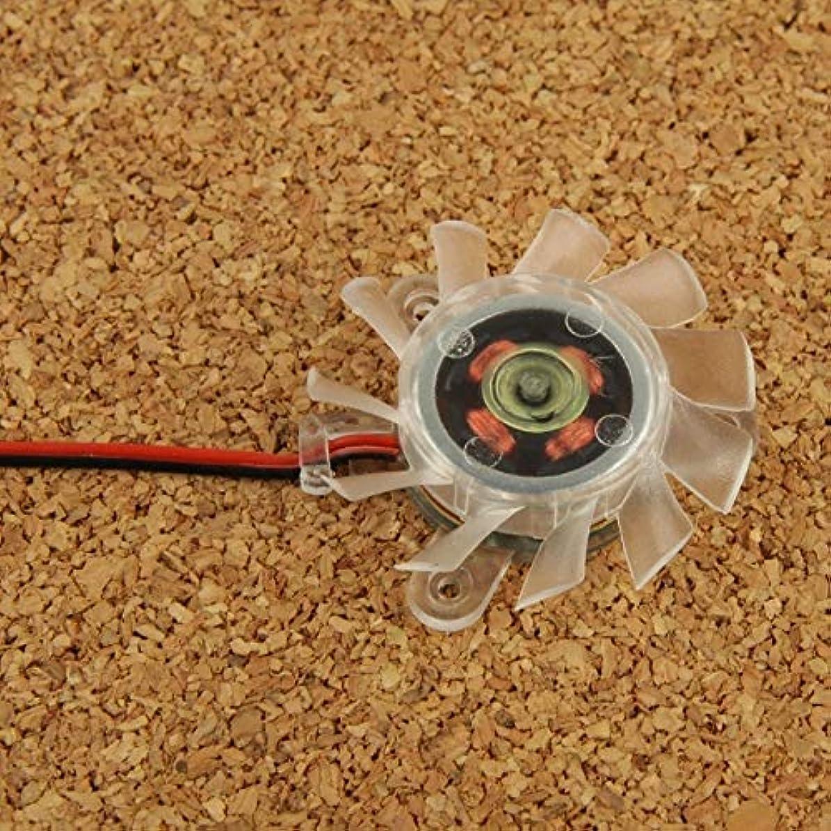 ミリメートル掃除投資冷却ファン 冷却ファン40ミリメートル2ピンのVGAカード.
