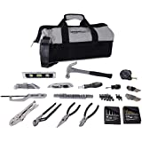 Amazonベーシック ホームツールセット 工具セット 115点セット 収納バッグ付き