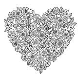 RoomMates(ルームメイツ) NURIE Flower & Heart ぬり絵ウォールステッカー フラワー&ハート RMK3327CYD
