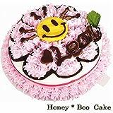 ギフト花&フード Best Deals - 犬用誕生日ケーキ Honey-Booケーキ 無添加 ヘルシードッグフード わんちゃんおやつ 豪華 スイーツ (4号サイズ(12cm)ささみと野菜の生地)