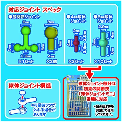 ホビーベース 1/12 プレミアムパーツコレクション 関節技EX 素材ちゃん ライトフレッシュ ホビー用素材 PPC-T45