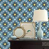 モロッコスタイルPeel and Stick壁紙 20.5-in x 18-ft roll 8_Moroccan_P