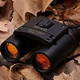 30 x 60 Day Night Vision Telescope Zoom Binoculars Compact Folding Waterproof Mini Portable with Free Bag