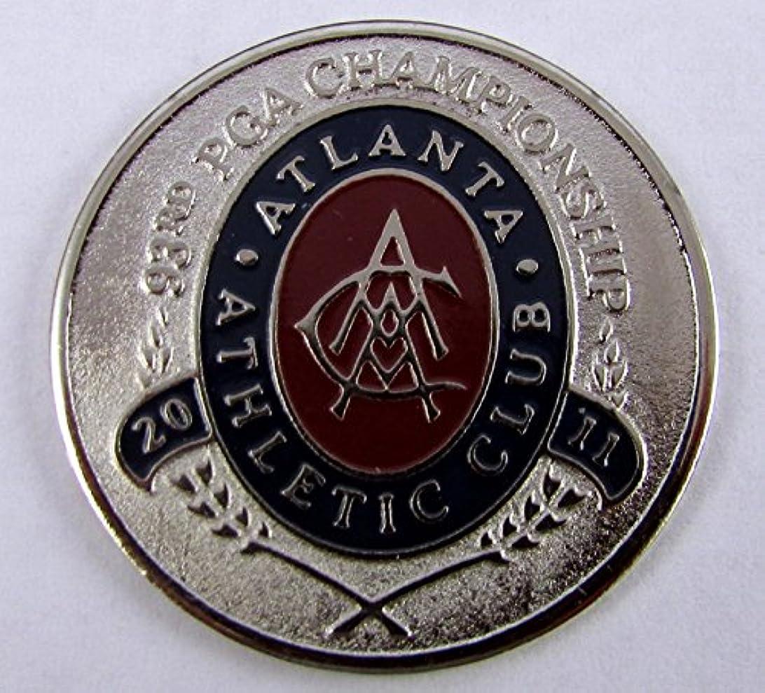ライド言語学オーバードローPAC Golf Metal Poker Chip Ballmark Ballmarker PGA CHAMPIONSHIP 2011 ATLANTA