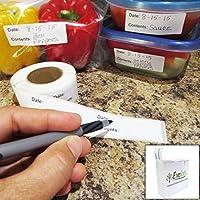 Evelots 500 Adhesive Food Storage Labels Freezer & Refrigerator [並行輸入品]