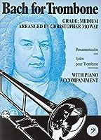BACH - Album: For Trombone para Trombon (BC) y Piano (Mowat)
