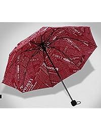レッドファッション雨傘ノベルティ用紙プリント傘メンズレディースFolding