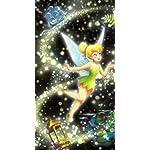 ディズニー iPhoneSE/5s/5c/5 壁紙 視差効果 ティンカー・ベル