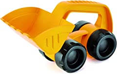 """Hape E4054 Monster Digger Beach Toy,Yellow,""""L: 9.1, W: 5.1, H: 5.3 inch"""""""