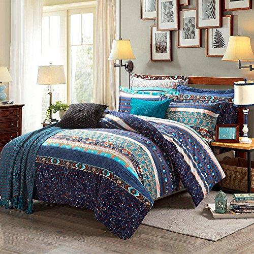 君のホームカザリ 寝具カバセット ベッドスプレッド 4点セット ベッドカバー キルト ソファーカバー ケイーン キング用 100%綿 (L)