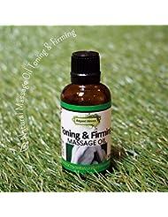 天然オレンジと天然グレープフルーツのコンビ。 アロマ ナチュラル マッサージオイル 50ml トニング&ファーミング(Aroma Massage Oil Toning & Firming)<BR>