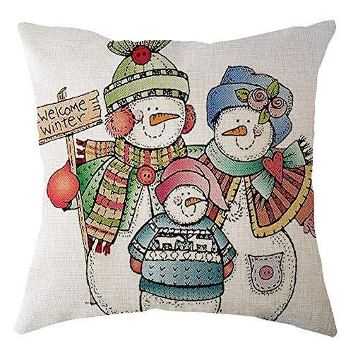 Demiawaking クリスマス 枕カバー サンタクロース...