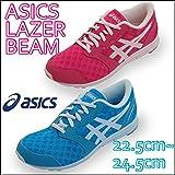 【asics アシックス】レーザービーム ジュニアランニングシューズTKB102 000102 スニーカー 運動靴 子ども 女の子 ミント,24.0cm