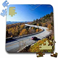 Danita Delimont–North Carolina–Linn Cove Viaduct , Blue Ridge Parkway、ノースカロライナ州–us34cha0049–チャックHaney–10x 10インチパズル( P。_ 93223_ 2)