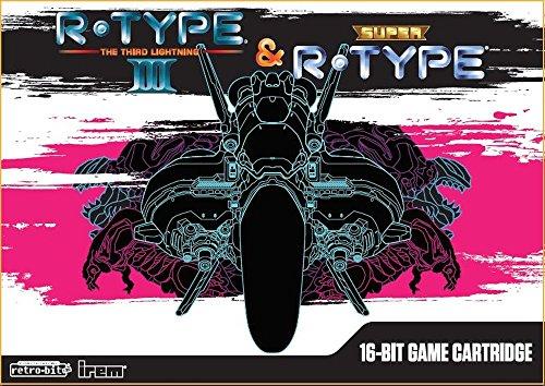 R-TYPEⅢ & スーパーR-TYPE 16ビット ゲームカートリッジ