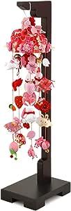 つるし飾り つるし雛 手毬と桜うさぎ(小)スタンド付 吊るし雛 吊るし毬 ひな人形 雛人形 お祝い品 桃の節句