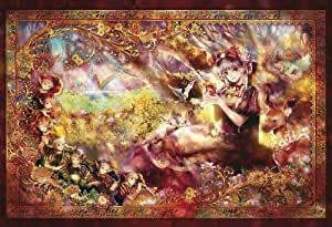 600ピース ジグソーパズル 白雪姫物語 ベリースモールピース(26x38cm)