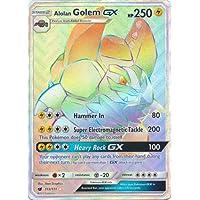 Pokemon SM CRIMSON INVASION ALOLAN GOLEM 113//111 SECRET RARE