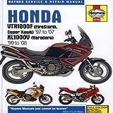 Honda VTR1000F (Firestorm Super Hawk)'97 to  '07 KL1000V (Varadero) '99 to'08 (Haynes Service & Repair Manual)