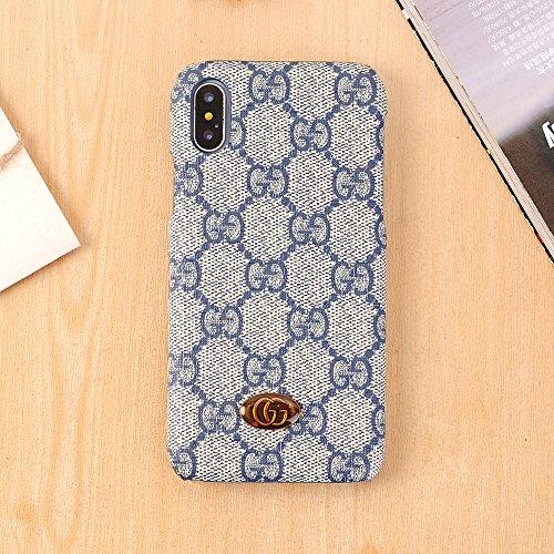iPhone Xケース、贅沢なテクスチャバック携帯電話ケース、iPhone X用