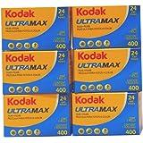Kodak カラーネガフィルム ULTRAMAX 400 35mm 24枚撮 6本セット