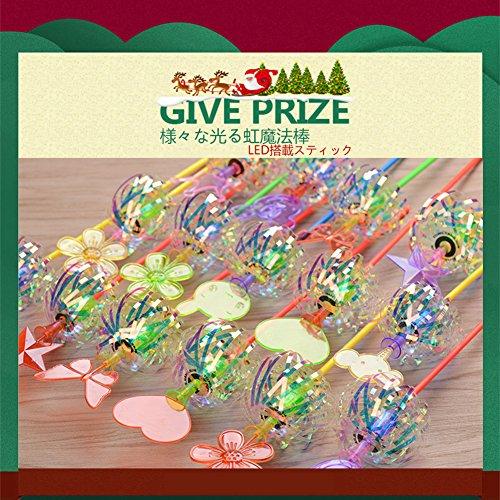 「光るおもちゃ」OOYE こどもクラブ LEDライト搭載 ピカピカ スティック 3本入り 2歳から11歳 お祭り +指人形1本+クリスマスブレスレット1本