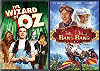 Musical Family Classics The Wizard of Oz & Chitty Chitty Bang Bang DVD Set Movie Bundle Double Feature【DVD】 [並行輸入品]
