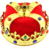 Olive-G DXキングアーサー 王様の王冠 ラメ付き パーティー イベントに