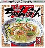 ヒガシマル醤油 ちゃんぽんスープ3P×10個