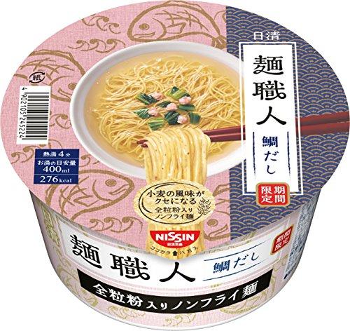 日清 麺職人 鯛だしラーメン 87g×12個