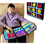 Sensory Blanket Dementia Fidget Sensory Blanket Toys for Autistic Alzheimers