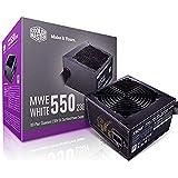 Cooler Master MWE 80Plus White 550W 230V 80Plus Single +12V Rail Silent Mode DC-to-DC Power Supply - Black - MPE-5501-ACABW-A