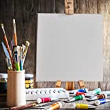 5X Blank Artist Stretched Canvas Canvases Art Large White Oil Acrylic Wood 50x70
