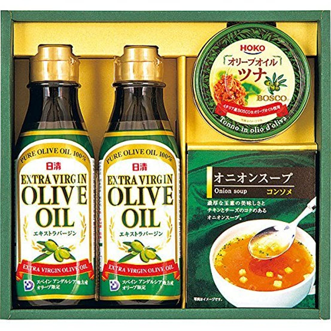 格納転倒市場日清オリーブ調味料ギフト SAO-20 17-2938-024