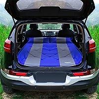 ASL 屋外UVユニバーサルポータブル自動インフレータ車のベッドインフレータブルベッドエアベッド車のベッド車の衝撃ベッド寝袋 HAPPY ( 色 : 青 )