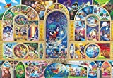 500ピース ジグソーパズル ディズニーオールキャラクタードリーム ぎゅっとシリーズ 【ステンドアート】(25x36cm)