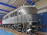 ラミネート加工32?x 24ポスター:電動機関車博物館Prora Rì _ Gen German Reichsbahn DRG 1-d-1?Express Train博物館のテクノロジーExhibitionプレゼンテーションExhibit Oldtimer 1940?historically