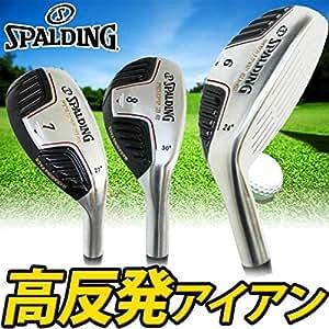 SPALDING スポルディング ゴルフ ロイヤルトップ SD-02 高反発 アイアン 5本組み (r)