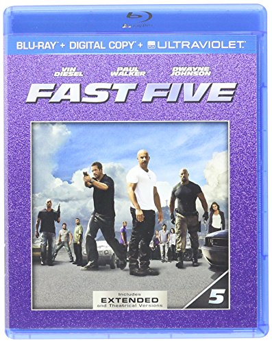 Fast Five (Blu-ray + Digital Copy + UltraViolet + Jason Bourne Fandango Cash)