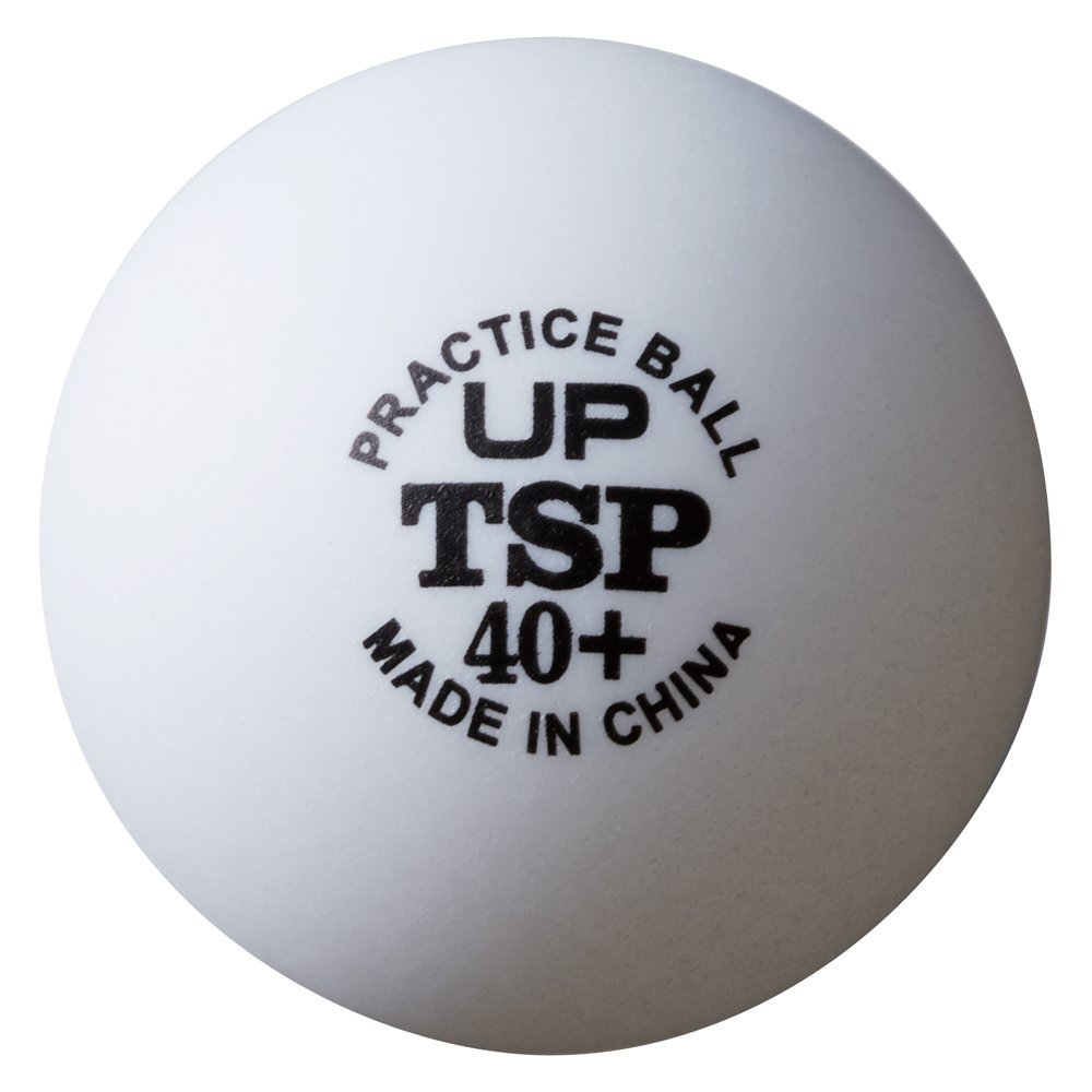 TSP アップボール40+練習球 10ダース 1セット 10ダース ヤマト卓球TSP 010047 ヤマト卓球